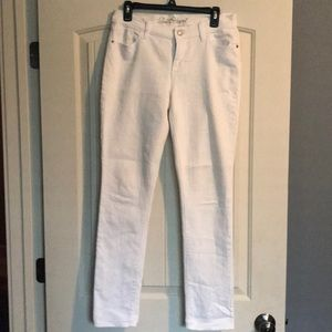 Old navy jeans- white